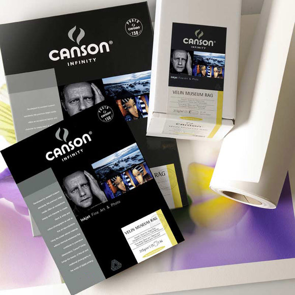 Canson Velin Museum Rag 250 & 315gsm