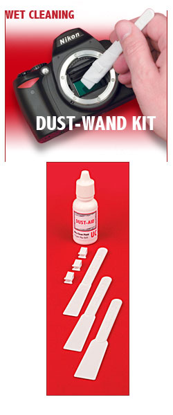 Dust Aid Wand Kit camera sensor cleaning