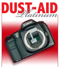 Dust Aid Platinum Kit camera sensor cleaning