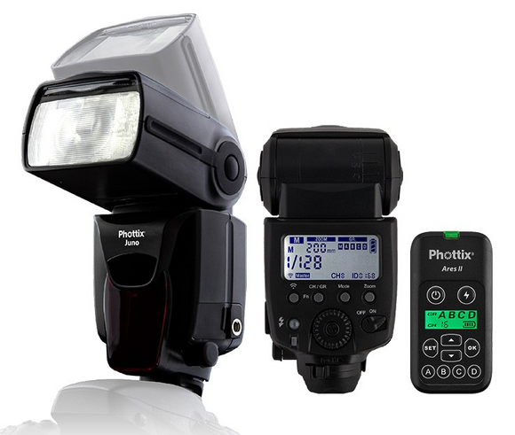 Phottix Juno Transceiver Flash and Ares II Combo kit