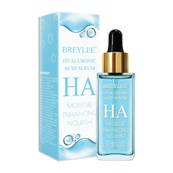 BREYLEE Hyaluronic Acid Serum 40ml Hydrating Dry Skin Care Moisturizing Anti Aging Elasticity Absorbed Easily Facial Essence