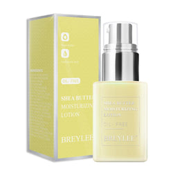 BREYLEE Oil-Free Day Night Face Cream Shea Butter Moisturizing Lotion Anti Acne Treatment Facial Emulsion Nourishing Skin Care
