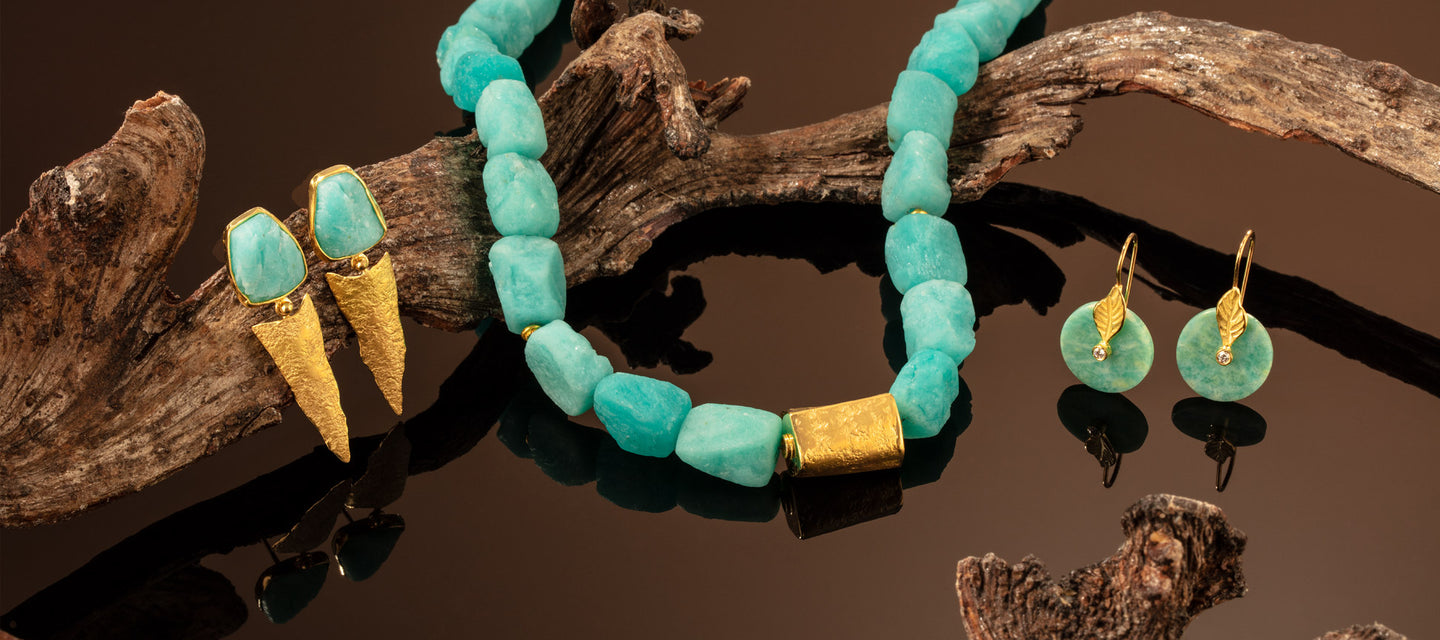 Cape Cod Jewelry - Amazonite Collection