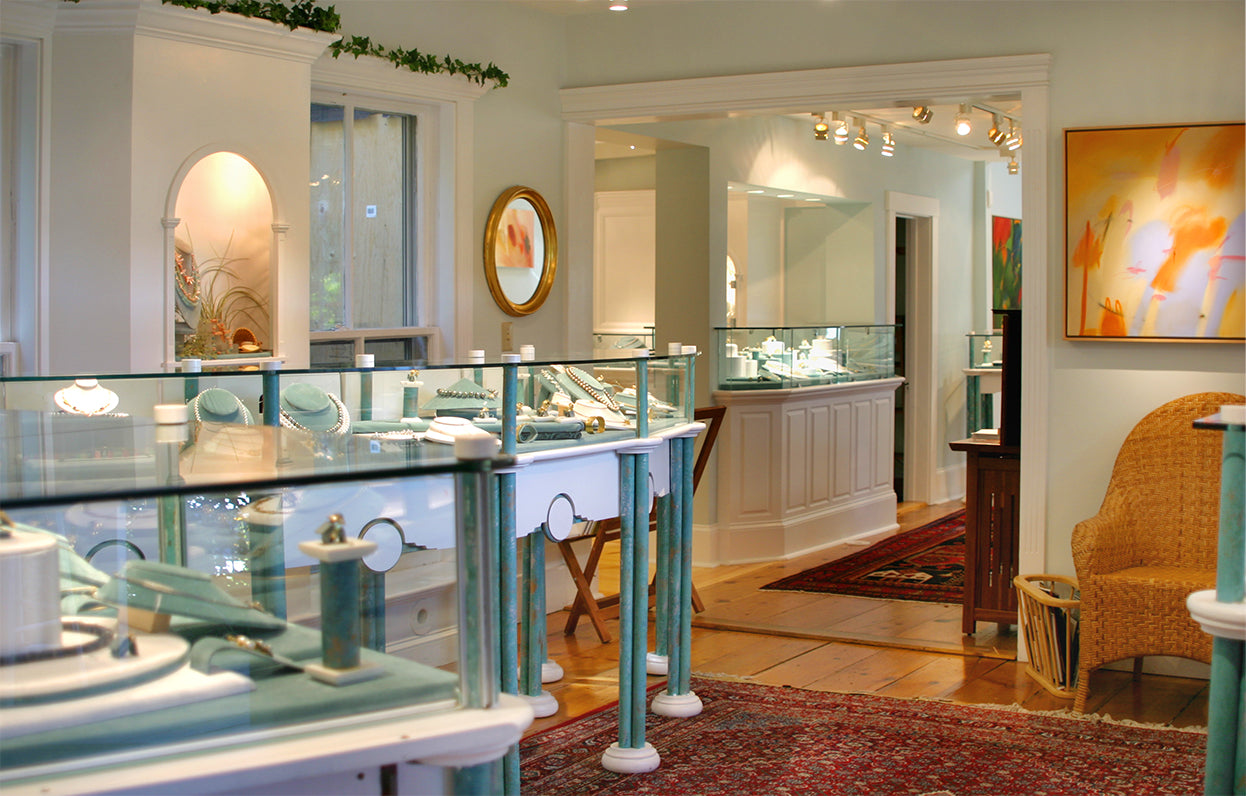 Ross Coppelman Goldsmith Cape Cod Jewelry Showroom