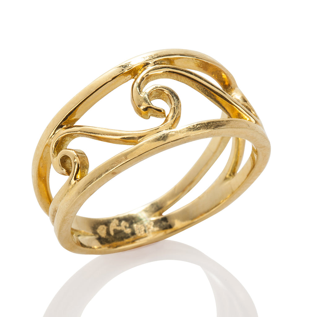 Three Wave Ring