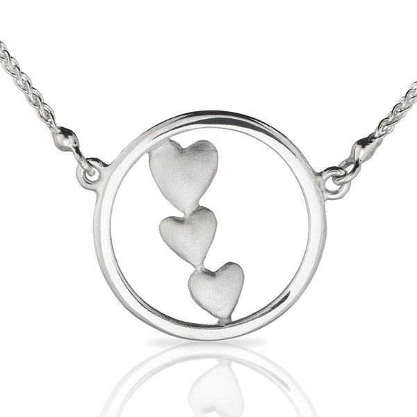 Triple Heart Pendant