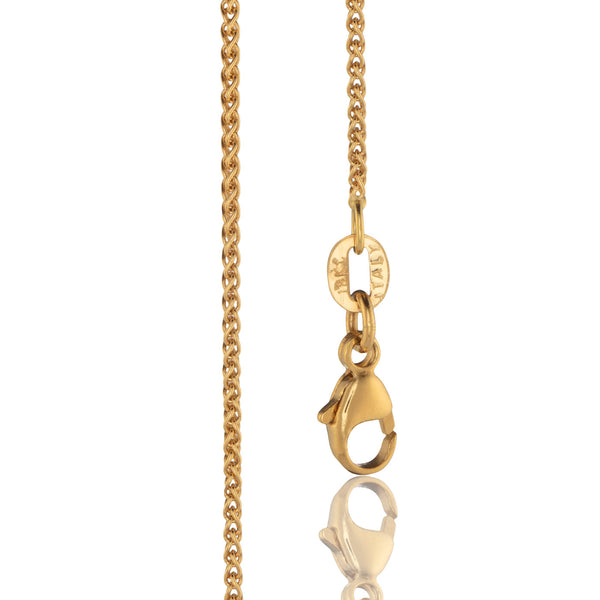 Spiga Chain in 18K Gold