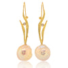 Baroque Pearl Seagrass Earrings