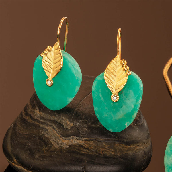 Amazonite Leaf Drops