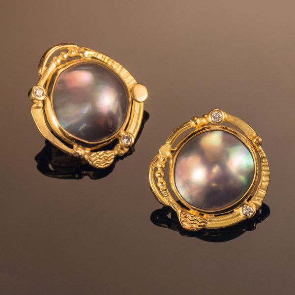 Sea of Cortez Pearl Earrings