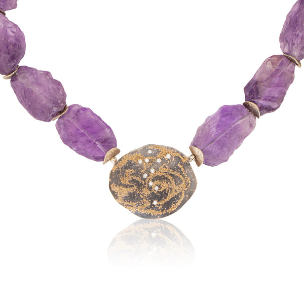 Amethyst/Starry Night Necklace