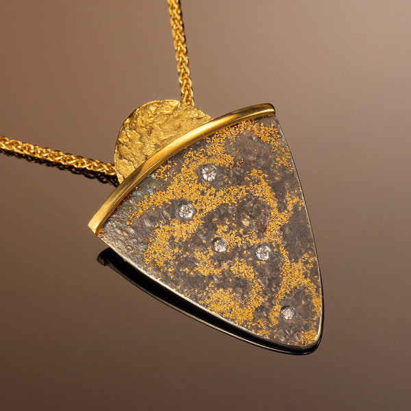 Starry Night Shield Pendant