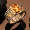 Hiero Ring with Citrine