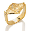 Platform Ring in Gold