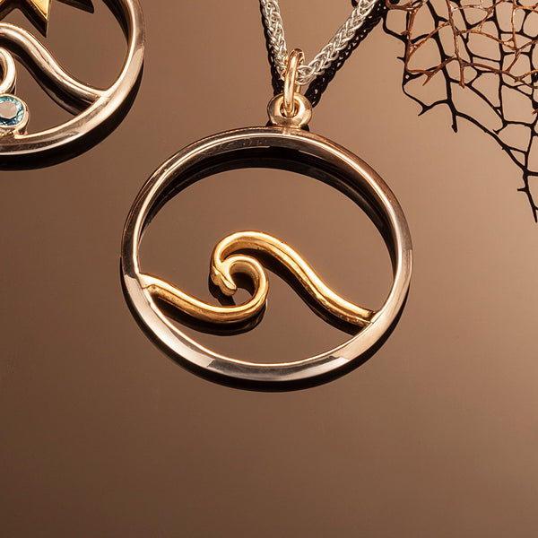 Signature Wave Pendant