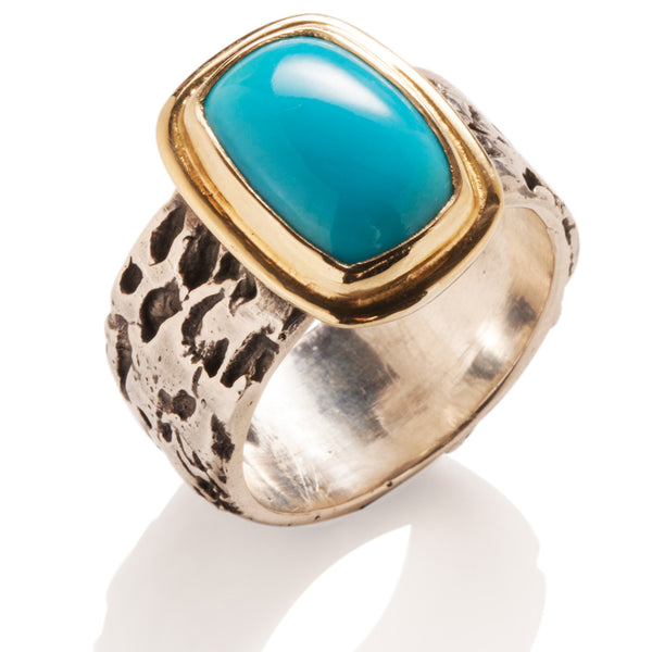 Turquoise Grotto Ring