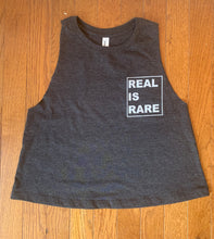 REAL IS RARE Cropped Tank