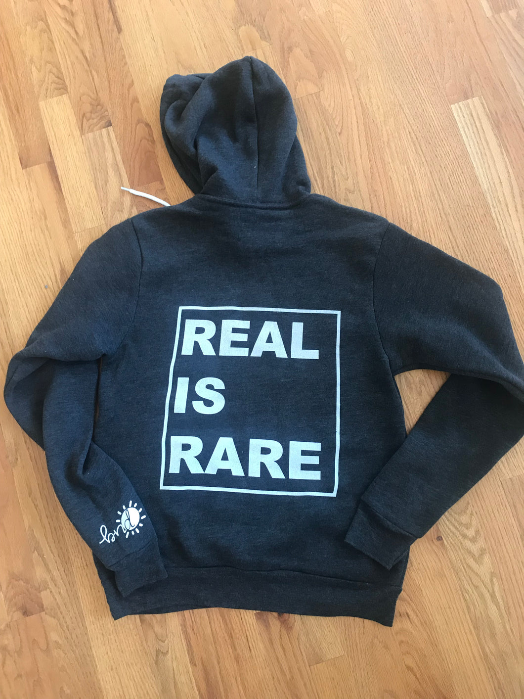 REAL IS RARE Hooded Sweatshirt