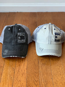 REAL Distressed Truck Hat