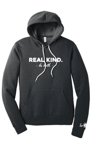 REAL KIND Hooded Sweatshirt