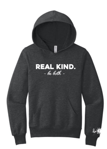 YOUTH REAL KIND Hooded Sweatshirt