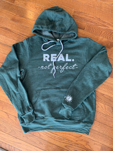#REALnot perfect Hooded Sweatshirt