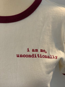 Unconditionally Me Ringer Tee