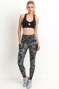 Lana Mesh Abstract Legging