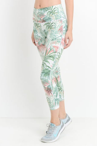 Ali Tropical Capri Legging