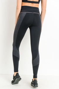Connie Block Stripe Legging