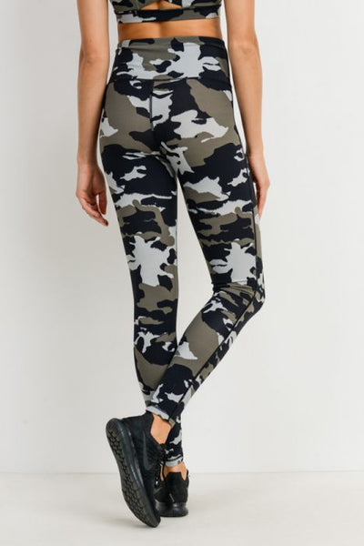 Preston Jungle Camo Legging
