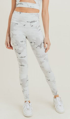 Preston Snow Camo Legging