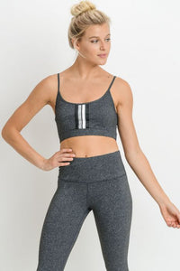 Rachel Four Stripe Sports Bra