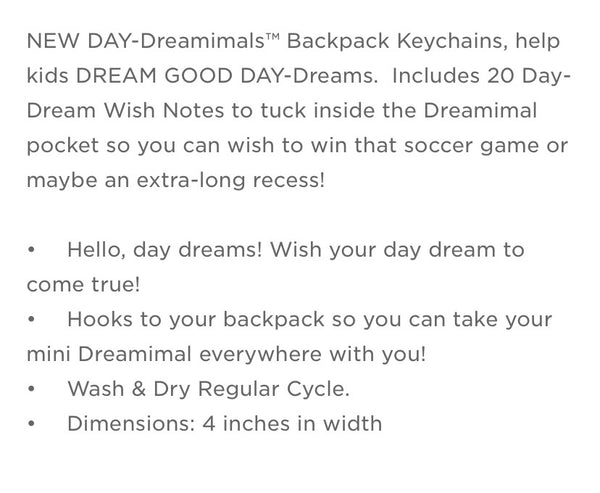 Day Dreamimals Keychain