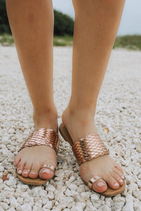 Hazy Braid Sandal