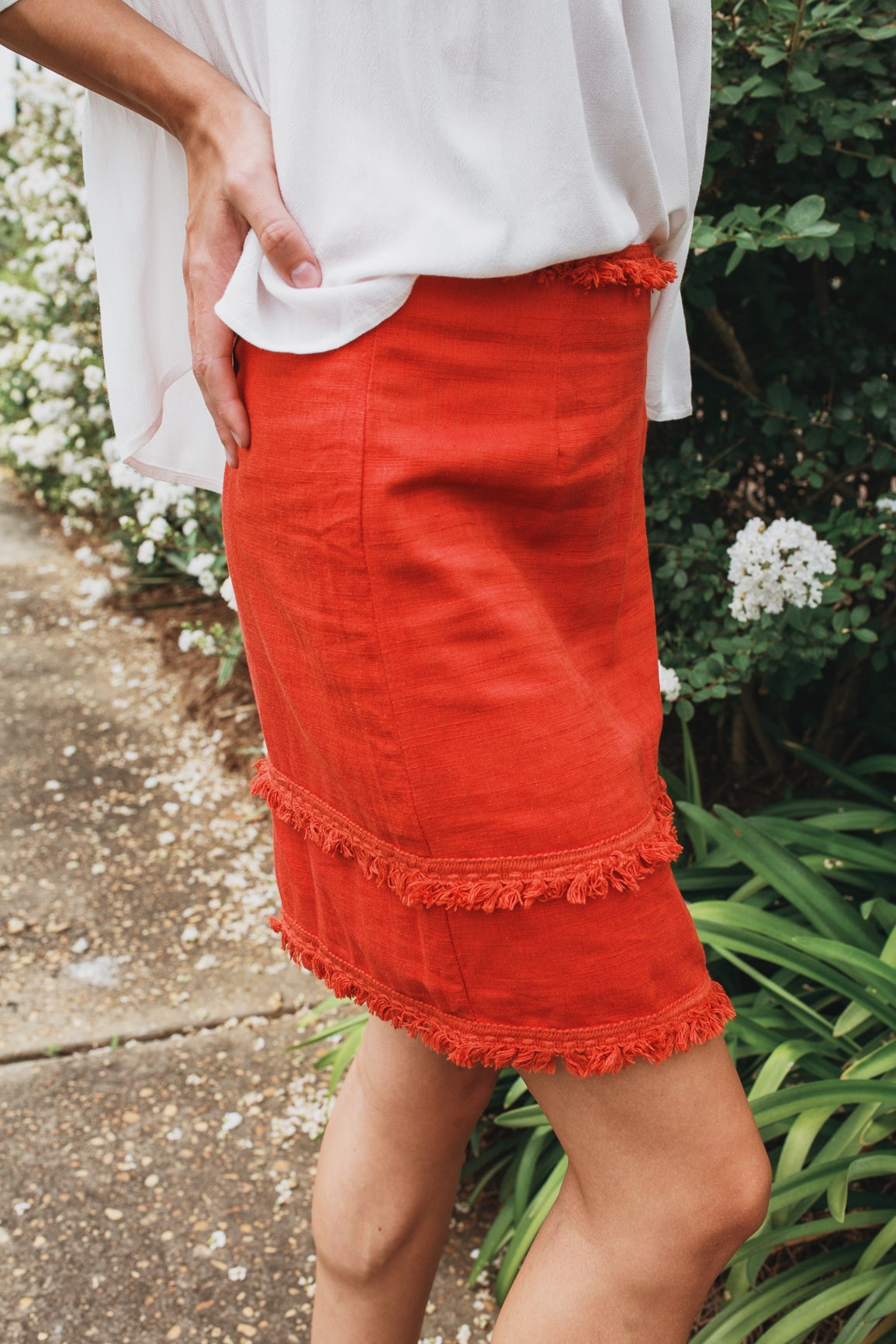 Tassel Mini Skirt
