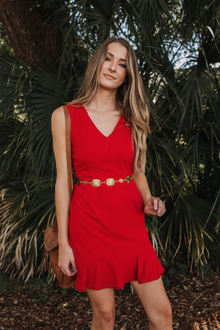Cayenne Fit & Flare Dress
