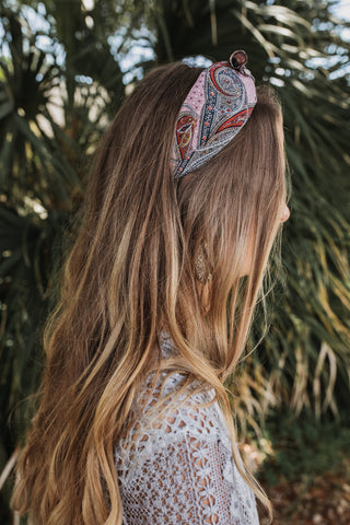 Paisley Headband (Multiple Colors)