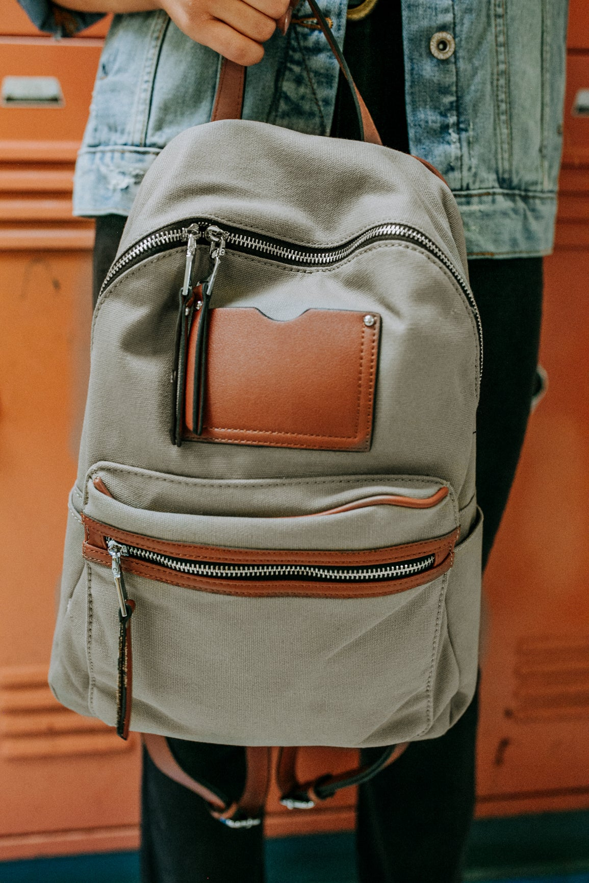 Canvas Backpack (Multiple Colors)