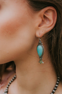 Western Teardrop Earrings