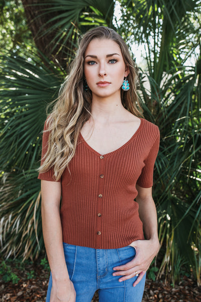 Cambridge Rib Top (Multiple Colors)