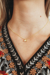 Gold Shape Necklace (Multiple Styles)