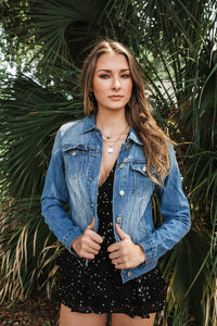 Relaxed Fit Denim Jacket