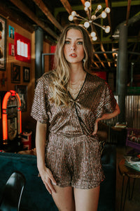 Disco Sequin Romper