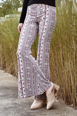 Printed Bell Bottoms