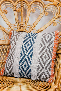 Tribal Print Throw Pillow