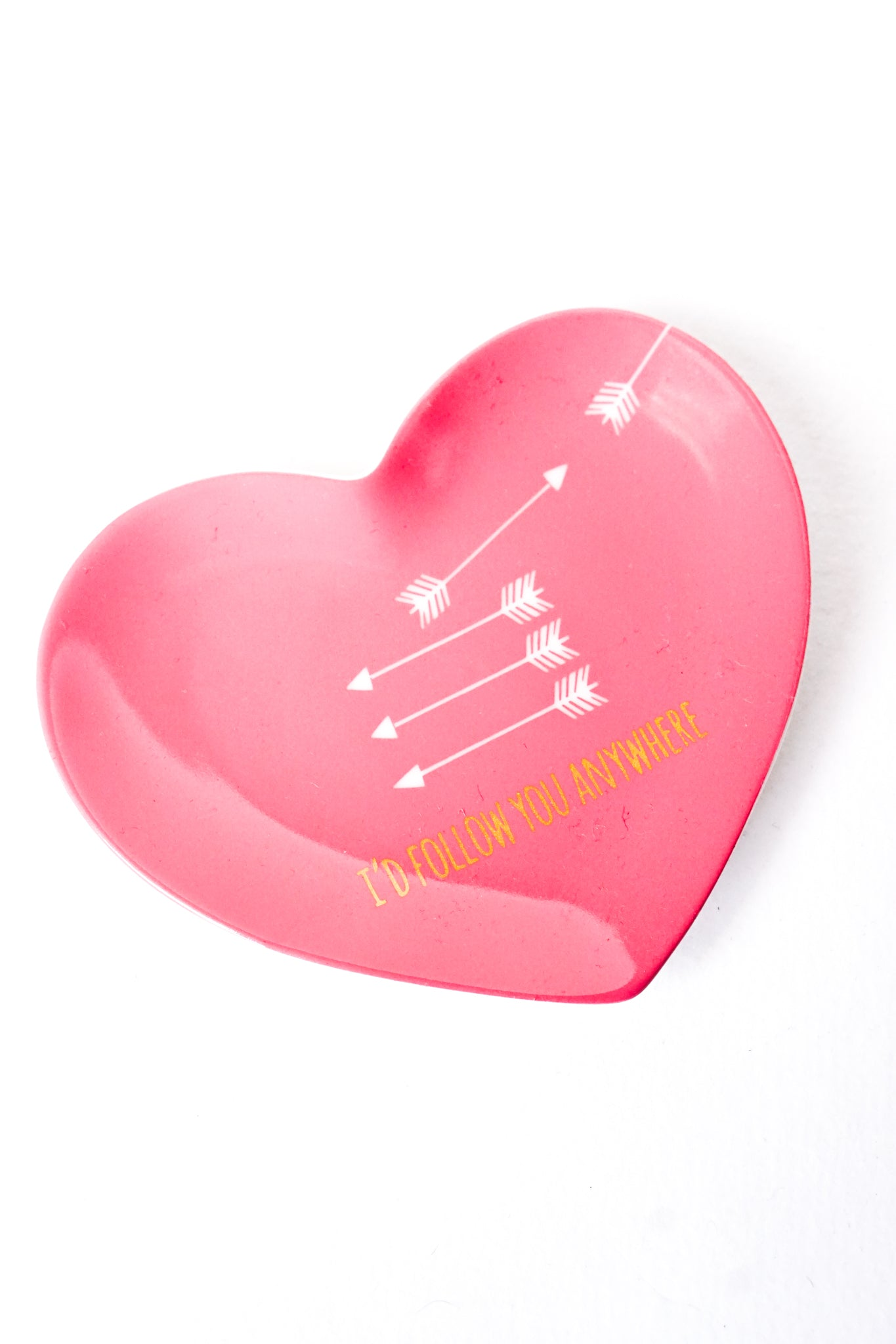 Heart Saying Trinket Tray