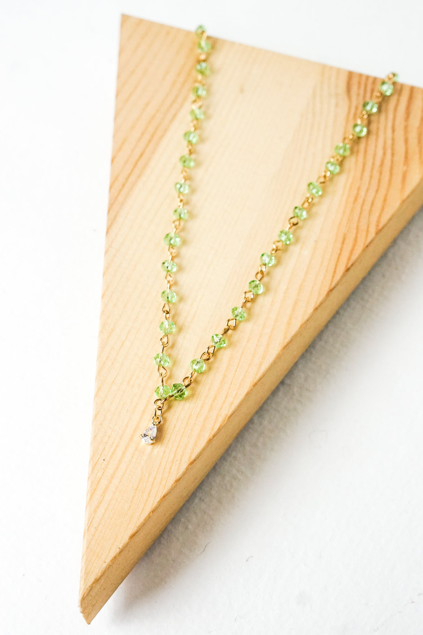 Green Beaded Choker