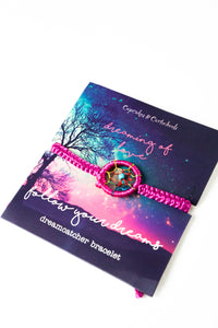 Dream Catcher Bracelets (Multiple Colors)