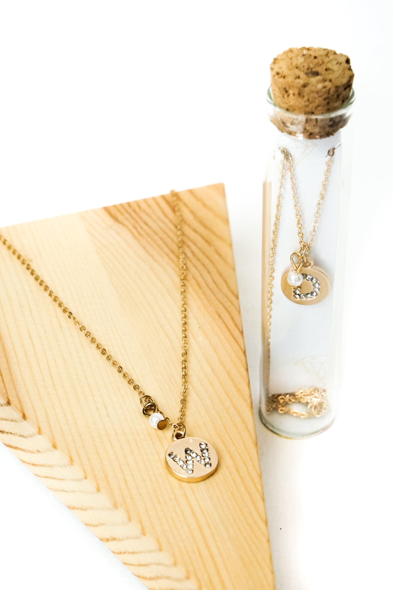 Monogram Necklaces (Multiple Styles)